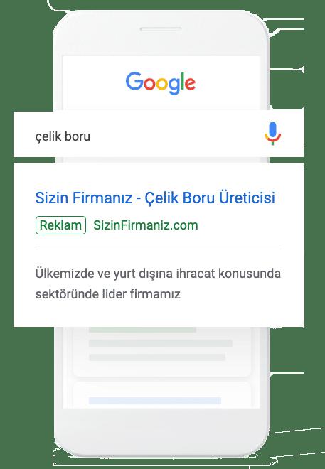 Google Aramalarına Reklam Vermek